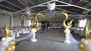 decoracion de boda con globo