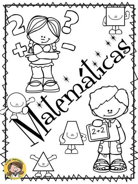 portada matem 225 ticas escuela portadas de matematicas