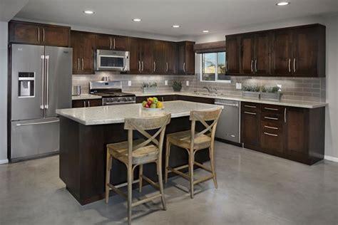 transitional edge  urban shaker style cabinets