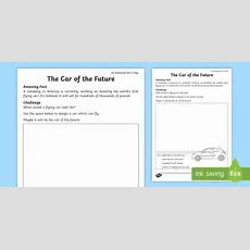 The Car Of The Future Worksheet  Worksheet  Amazing Fact Of The Day