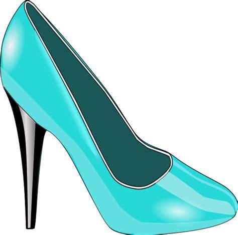 High Heel Clip Blue High Heels Clipart Clipart Suggest