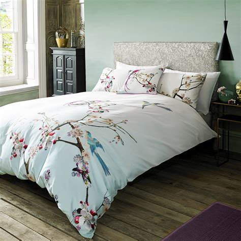 Best Linen Bedcovers by Buy Ted Baker Flight Of The Orient Duvet Cover