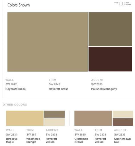 sherwin williams craftsman exterior color schemes color