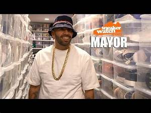 Mayor on Owning 3,000 Pairs of Kicks Worth $750k - YouTube