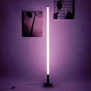 Seletti fluobar fluorescent neon lamp design is this for Floor lamp with tube light