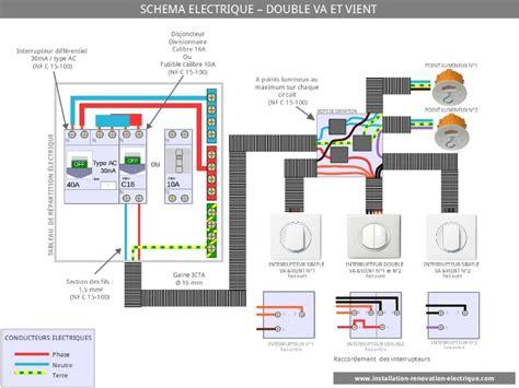 3 interrupteurs 1 le le sch 233 ma 233 lectrique du va et vient 2 interrupteurs simples 1 interrupteur