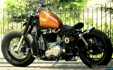 Modified Bike For Sale In Jaipur by 8 Rajputana Custom Motorcycle Bobber Using Royal