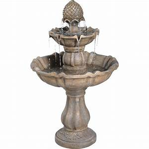 Bond manufacturing decorative garden fountain patella for Decorative garden fountains