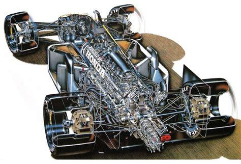 Honda Engine F1 Engine, Transaxle And Brakes Cutaway