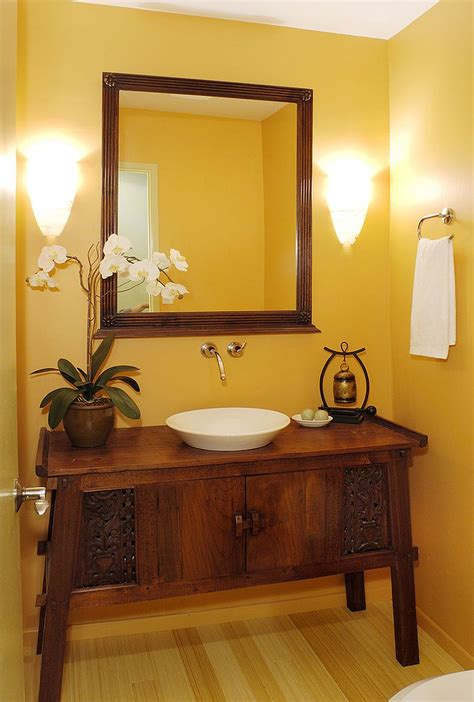 the vanity room summer trend 25 dashing powder rooms with tropical flair