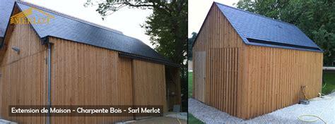 maison sans permis de construire extension de maison en ossature bois sarl merlot
