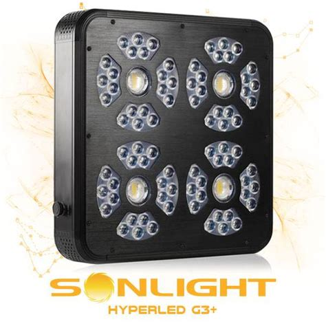 led coltivazione indoor sonlight hyperled