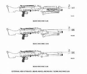 Technical Manual For M240 Series Machine Guns  Machine Gun