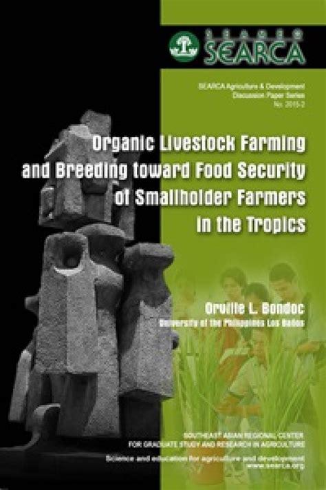 organic livestock farming  breeding  food security  smallholder farmers