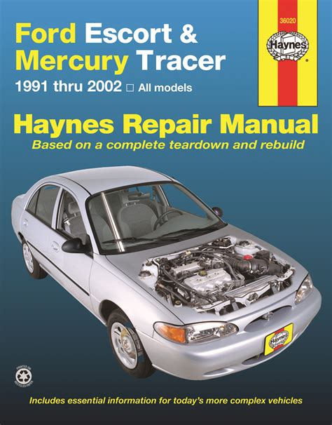 where to buy car manuals 2002 ford escort windshield wipe control ford escort mercury tracer 1991 2002 haynes repair manual usa haynes publishing