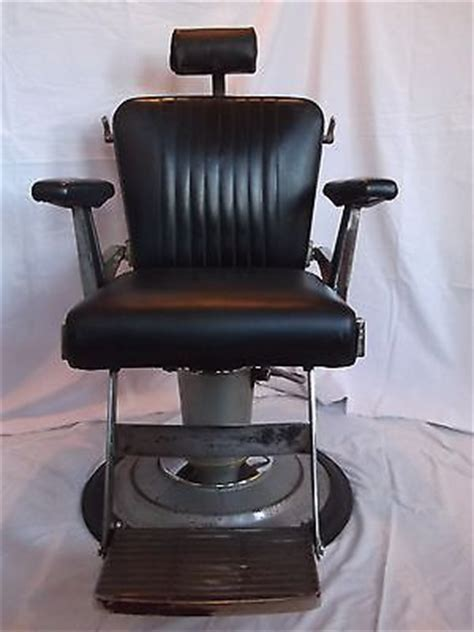 vintage 1950 s hydraulic belmont barber chair