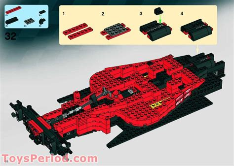 lego  ferrari   set parts inventory