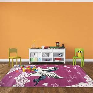 tapis pour chambre de fille rose licorne With tapis rose pour chambre fille