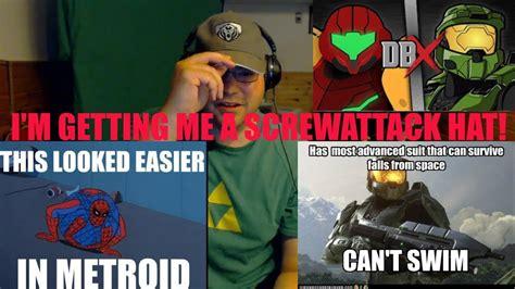 Samus Vs Master Chief Metroid Vs Halo Dbx Reaction