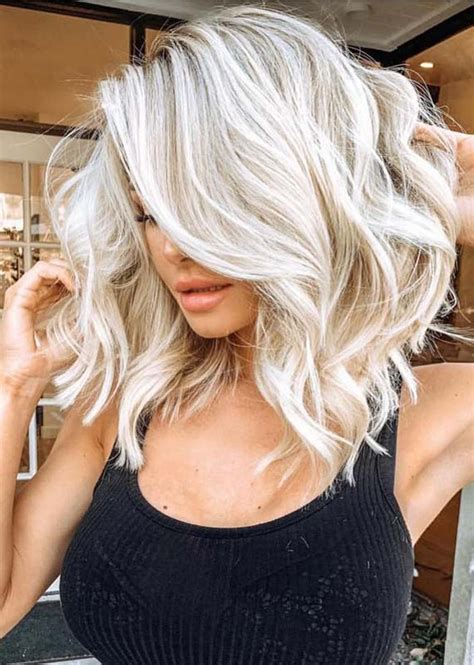 40 Awesome Blond Hair Colors for Medium Length Hair in