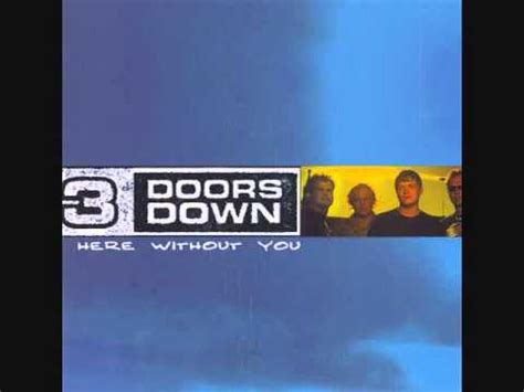 3 doors here without you here without you 3 doors instrumental