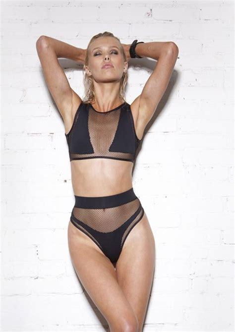 jane fonda bikini minimale animale swimwear jane fonda black sand 9 the
