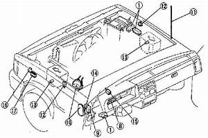 1985 U20131998 Mazda B2000  B2200  B2600 Fuse Box Diagram