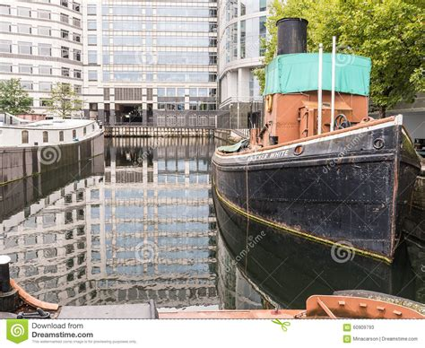 Tug Boat Price In India by Knocker White Tugboat At North Quay West India Dock