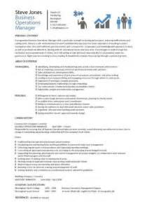 operation theatre resume format business operations manager resume exles cv templates