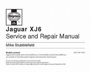 Jaguar Manuals  Download Jaguar Xj6 Service And Repair Manual