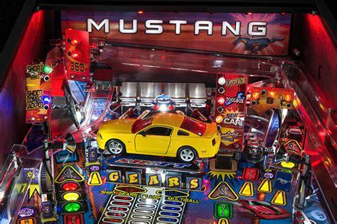 Ford Mustang Gets A Pinball Machine Ponyball Technabob