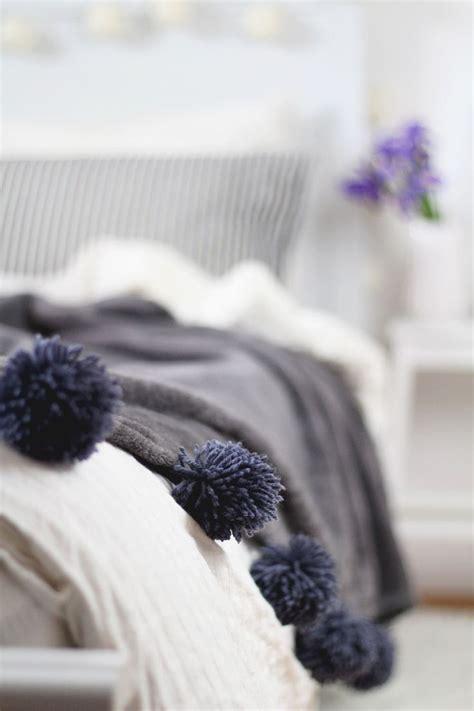 Schwere Decke Selber Machen by Die Besten 25 Pompons Selber Machen Ideen Auf