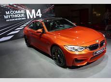 Paris 2014 BMW M4 Coupé in Sakhir Orange Metallic