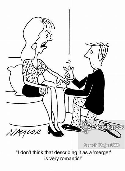 Corporate Strategy Finance Cartoon Cartoons Funny Merger