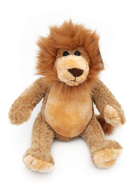 personalised rory  lion teddy bear soft toy