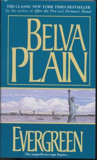 Evergreen By Belva Plain, Paperback  Barnes & Noble®
