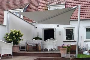 sonnensegel terrasse sonnenschutz sonnensegel als With garten planen mit balkon markise elektrisch