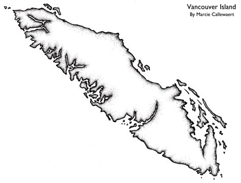 vancouver island outline picture google search xmas
