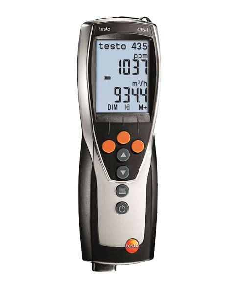 light testo testo 435 1 multifunction meter velocity air flow