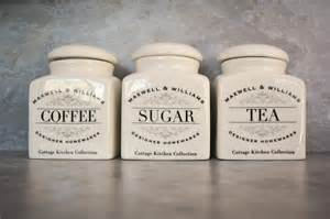 what to put in kitchen canisters tea coffee sugar canisters in pearls