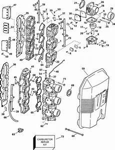 Johnson Carburetor  U0026 Intake Manifold