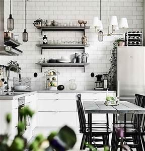 Decoration Industrielle Vintage : cuisine industrielle l 39 l gance brute en 82 photos exceptionnelles ~ Teatrodelosmanantiales.com Idées de Décoration