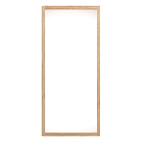 ethnicraft oak light frame mirror by ethnicraft clickon