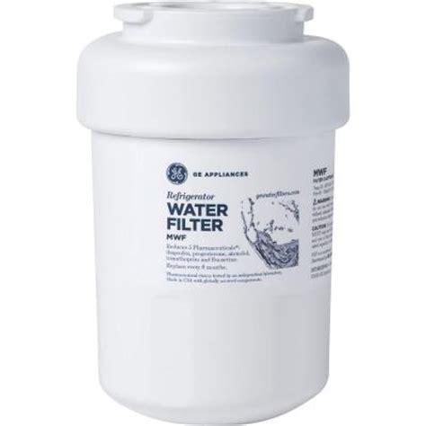ge refrigerator water filter mwf  home depot