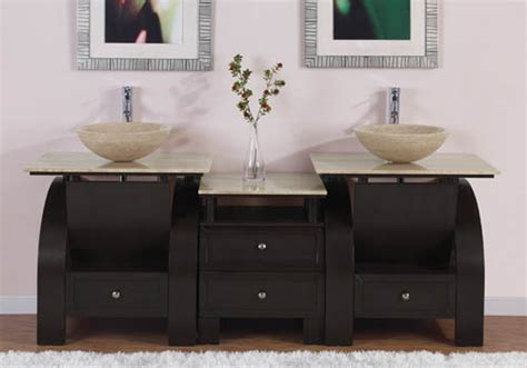 Art Kallista Inches Modern Double Vessel Sink Bathroom