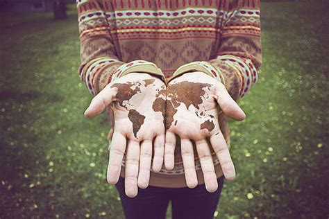 earth hand hands hipster photo image