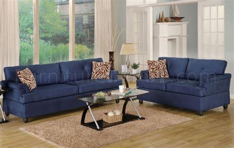 navy microfiber sofa navy microfiber plush contemporary sofa loveseat set
