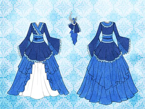 Jun Dress Design by Eranthe on DeviantArt