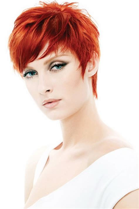 short red hairstyles for women short red hairstyles for women