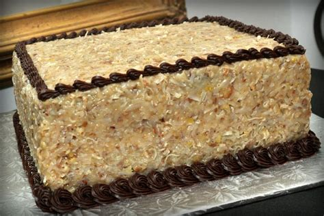 german chocolate yum groom cakes